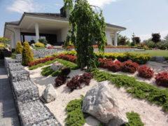 elegancki ogród