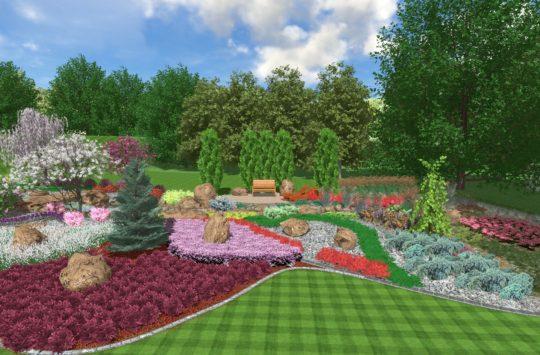 Aranżacja ogrodów